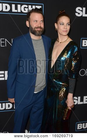 LOS ANGELES - JAN 5:  Baran Odar, Michelle Monaghan at the