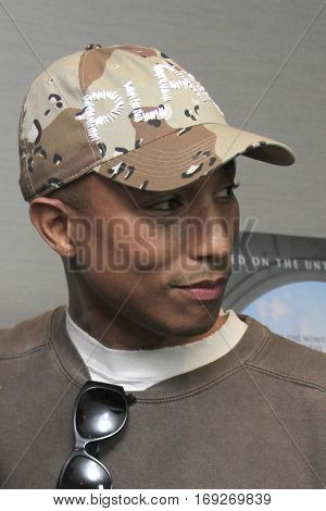 LOS ANGELES - JAN 4:  Pharrell Williams at the