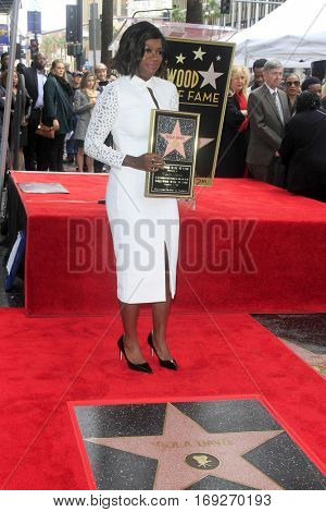 LOS ANGELES - JAN 5:  Viola Davis at the Viola Davis Star Ceremony at Hollywood Walk of Fame on January 5, 2017 in Los Angeles, CA