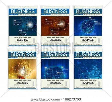 Modern business brochures