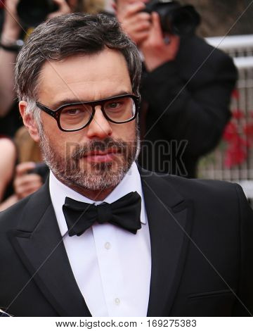 Actor Jemaine Clement attends the screening of 'The BFG' at the annual 69th Cannes Film Festival at Palais des Festivals on May 14, 2016 in Cannes, France.