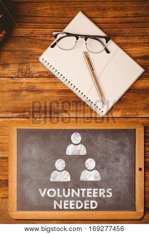 Volunteers needed against hipsters desk