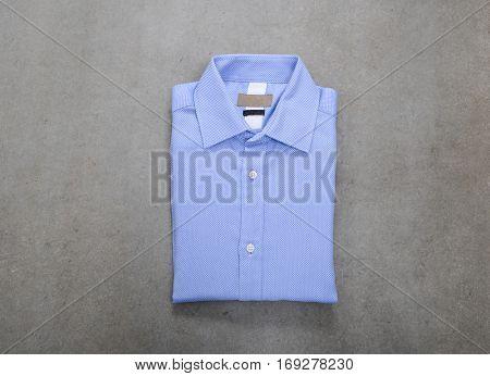 Men elegance clothes on gray background