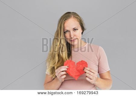 Woman Sad Depress Heartbroken Portrait
