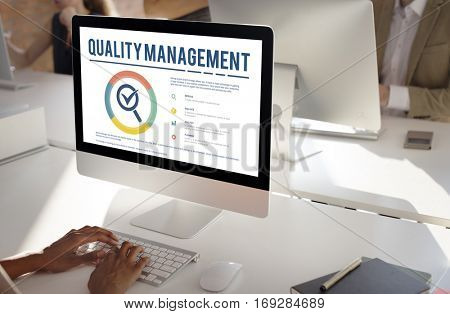 Quality Management Warranty Standard Concept
