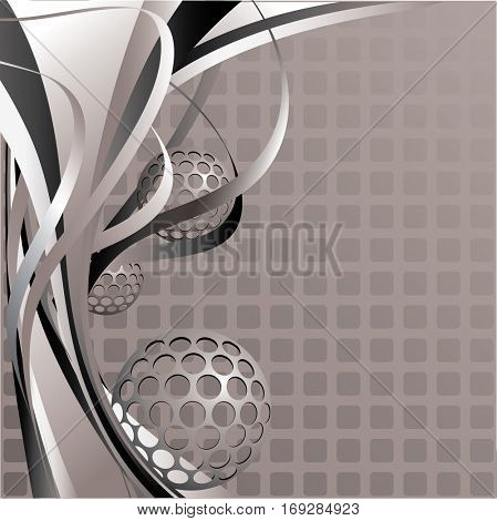 Abstract background. Lines and shapes. Streaks and spots