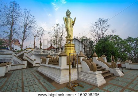Wat Phra That Kao Noi built during the 23rd-25th Buddhist centuries. Nan, THAILAND.