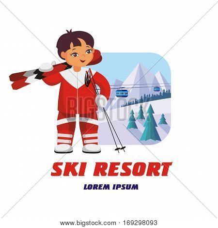 Emblem Of Winter Resort.eps