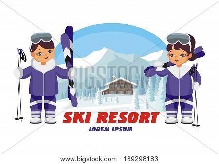 Ski Resort Emblem.eps