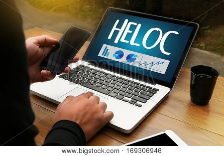 HELOC (Home Equity Line of Credit) anxiety, bank, bankrupt,