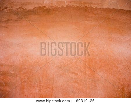 Grunge Red cement wall texture for background