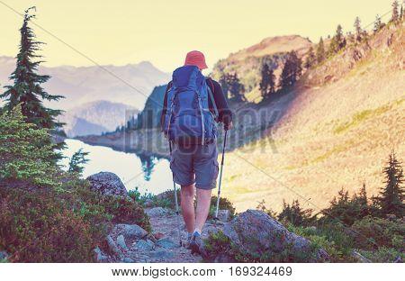 Hiking in Mt.Baker area, Washington