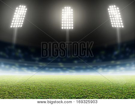 Stadium Outdoor Floodlit