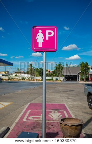 Parking Spaces For Lady