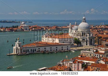 View Of Basilica Di Santa Maria In Venice, Italy