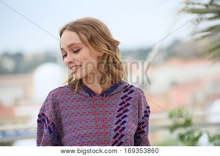 Lily-Rose Depp attends the 'The Dancer (La Danseuse)' photocall during the 69th annual Cannes Film Festival at the Palais des Festivals on May 13, 2016 in Cannes, France.