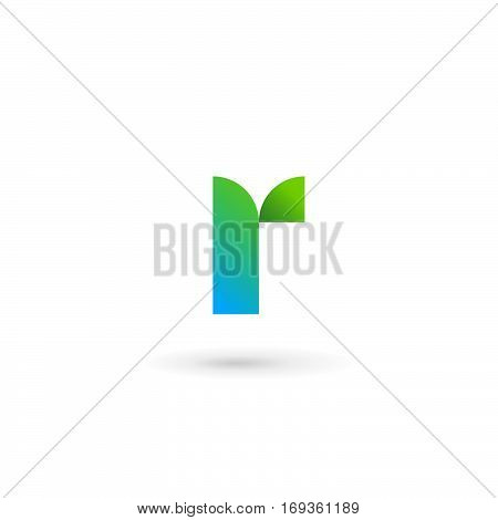 Letter R Ribbon Logo Icon Design Template Elements