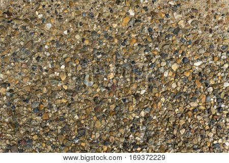 gravel floor texture is rough and anti slip.