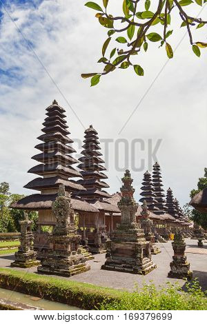 Taman Ayun Temple a royal temple of Mengwi Empire located in Mengwi Badung regency that is famous places of interest in Bali. Indonesia.