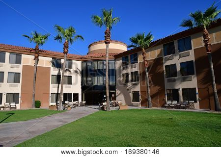 Scottsdale USA - july 7 2016 : an hotel in the city center