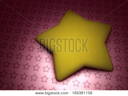 Modern abstract elegance three-dimensional background. 3D rendering.