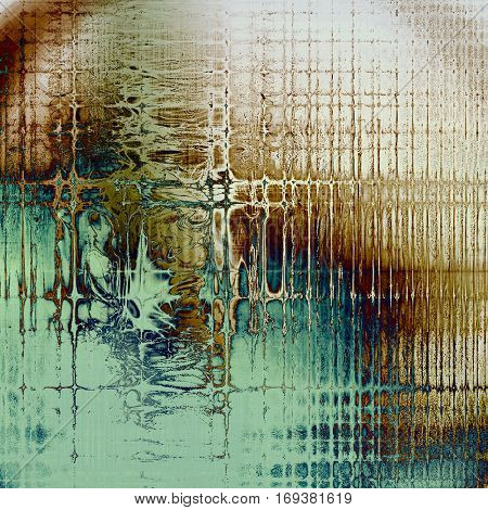 Cute colorful grunge texture or tinted vintage background with different color patterns: yellow (beige); brown; blue; gray; cyan; white