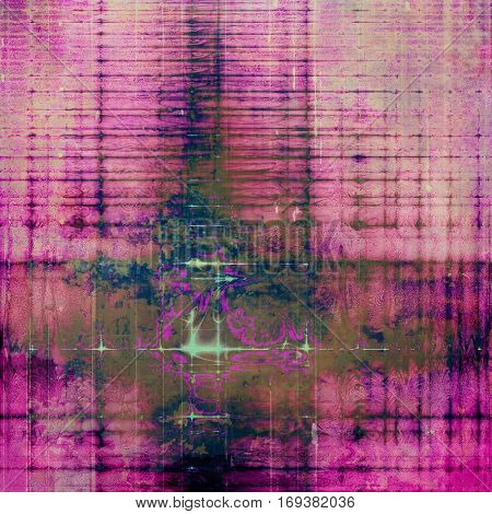 Retro background, antique texture for abstract vintage design composition. With different color patterns: brown; blue; purple (violet); gray; pink