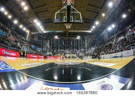 Basket League Game Paok Vs Aris