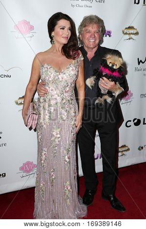LOS ANGELES - NOV 3:  Lisa Vanderpump, Ken Todd, Giggy at the Vanderpump Dogs Foundation Gala at Taglyan Cultural Complex  on November 3, 2016 in Los Angeles, CA