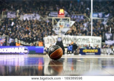 Greek Basket League Game Paok Vs Aris