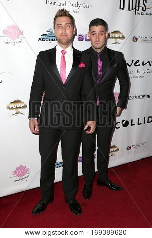 LOS ANGELES - NOV 3:  Lance Bass, Michael Turchin at the Vanderpump Dogs Foundation Gala at Taglyan Cultural Complex  on November 3, 2016 in Los Angeles, CA