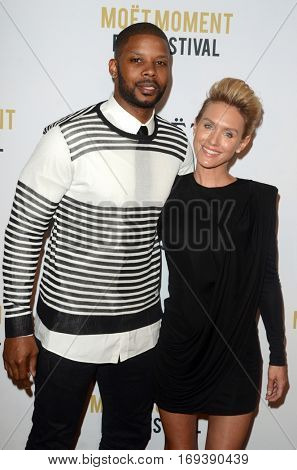 LOS ANGELES - JAN 4:  Kerry Rhodes, Nicky Whelan at the 2nd Annual Moet Moment Film Festival at Doheny Room on January 4, 2017 in West Hollywood, CA