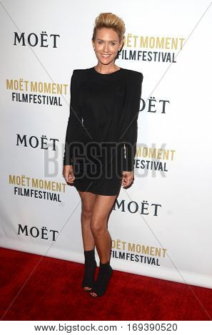 LOS ANGELES - JAN 4:  Nicky Whelan at the 2nd Annual Moet Moment Film Festival at Doheny Room on January 4, 2017 in West Hollywood, CA