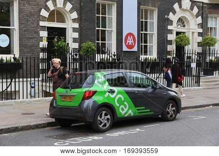 Car Sharing - Zipcar