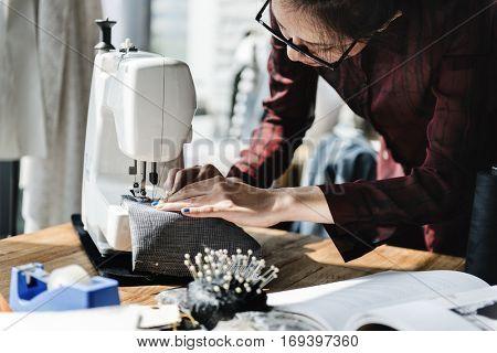 Fashion Design Sewing Machine Concept