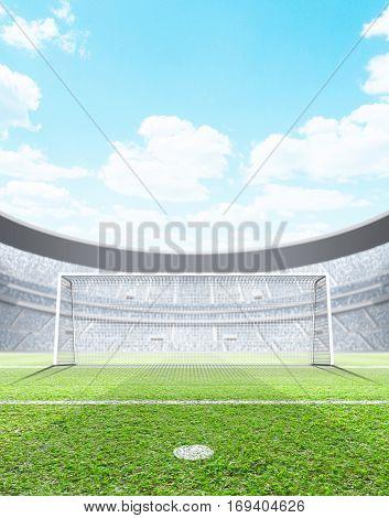 Floodlit Stadium Day