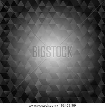 geometric background with copy space - vector illustration