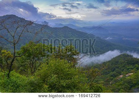 Beauty of Wayanad ghats, Kerala - South India