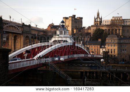 Bridges view of Newcastle Upon Tyne