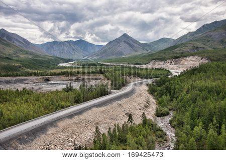 Track Colima: Yakutsk to Magadan yakutia Eastern Siberia
