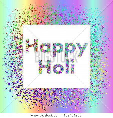 576356 Holi Festival Square Banner