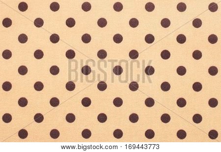 Dotted spotted textile background cloth design