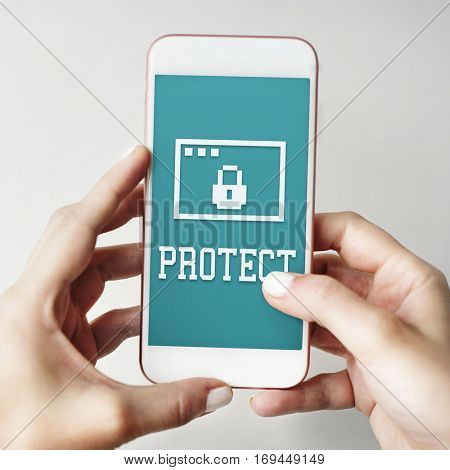 Permission Privacy Protection Security Concept
