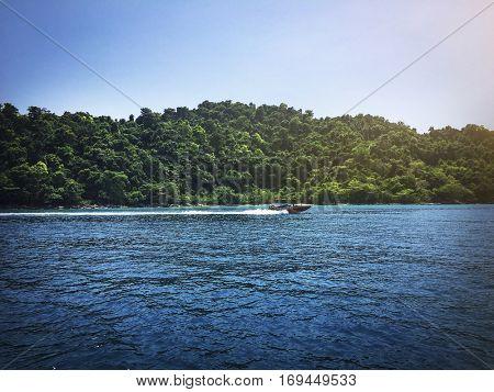 Speed Boat Cruiser Journey Marine Nautical Trip