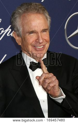 PALM SPRINGS - JAN 2:  Warren Beatty at the Palm Springs International FIlm Festival Gala at Palm Springs Convention Center on January 2, 2017 in Palm Springs, CA