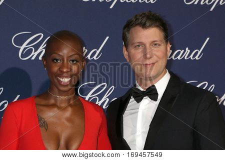 PALM SPRINGS - JAN 2:  Oge Egbuonu, Jeff Nichols at the Palm Springs International FIlm Festival Gala at Palm Springs Convention Center on January 2, 2017 in Palm Springs, CA