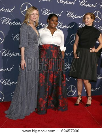 PALM SPRINGS - JAN 2:  Kirsten Dunst, Octavia Spencer at the Palm Springs International FIlm Festival Gala at Palm Springs Convention Center on January 2, 2017 in Palm Springs, CA