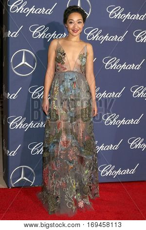 PALM SPRINGS - JAN 2:  Ruth Negga at the Palm Springs International FIlm Festival Gala at Palm Springs Convention Center on January 2, 2017 in Palm Springs, CA