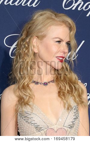 PALM SPRINGS - JAN 2:  Nicole Kidman at the Palm Springs International FIlm Festival Gala at Palm Springs Convention Center on January 2, 2017 in Palm Springs, CA