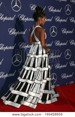 PALM SPRINGS - JAN 2:  Janelle Monae at the Palm Springs International FIlm Festival Gala at Palm Springs Convention Center on January 2, 2017 in Palm Springs, CA